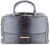 Tod's Crocodile Military Bowler