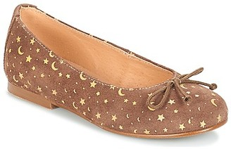 Andre MOON girls's Shoes (Pumps / Ballerinas) in Brown