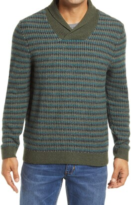 Tommy Bahama Bungalow Beach Shawl Merino Wool Sweater