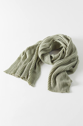 Urban Outfitters Waffle Knit Scarf