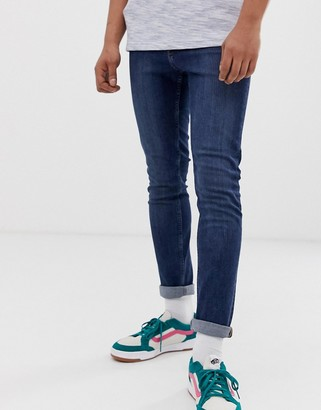 Cheap Monday tight skinny jeans in pure blue