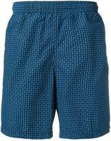 Alexander McQueen front skull printed swim shorts