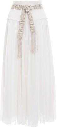 Zimmermann Freja Crinkle Skirt