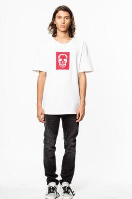 Zadig & Voltaire Tobias Skull T-shirt