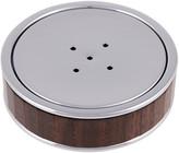 Cedes Milano - Soap Dish - Chrome & Wood