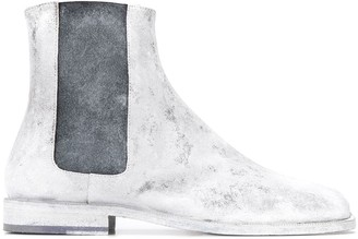Maison Margiela Tabi painted ankle boots