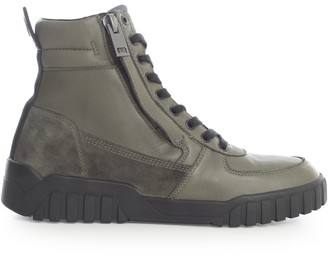 Diesel S-RUA Mid High-Top Sneakers