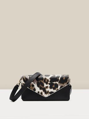 Diane von Furstenberg Willow Leather Clutch