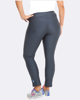 Curvy Chic Sports - Women's Black Tights - Active 3-4 Tights - Size One Size, 24 at The Iconic