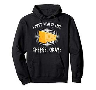 IDEA Funny Cheese Lover Cheese Nerd Gift Design Pullover Hoodie