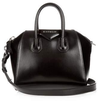 Givenchy Antigona Mini Leather Cross-body Bag - Womens - Black
