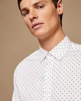 Ted Baker Polka dot cotton shirt