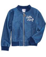 Hello Kitty Embroidered Denim Jacket, Little Girls