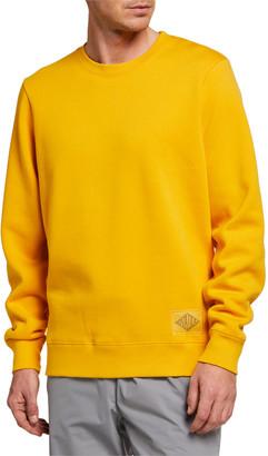 Ovadia & Sons Men's Dune Combination Crewneck Sweatshirt