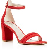 Red Ankle Strap Heels - ShopStyle