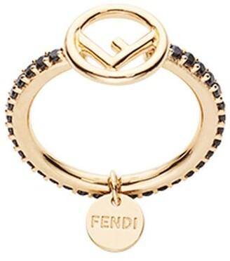 Fendi Embellished Ring
