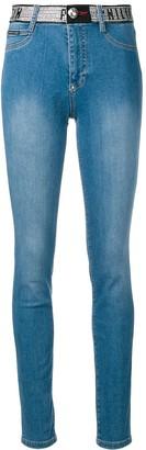 Philipp Plein skinny stud detail jeans