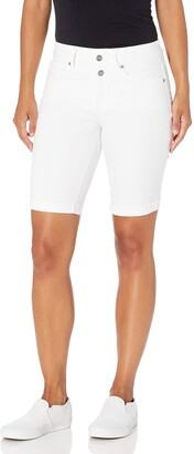 NYDJ Women's Petite Briella Denim Shorts with ROLL Cuff