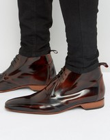Jeffery West Escobar Punch Detail Chukka Boots