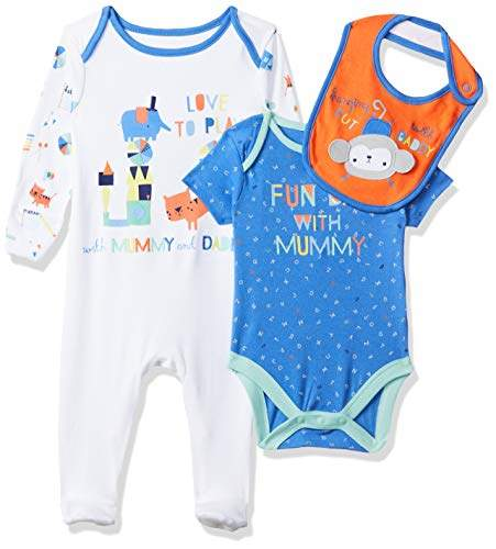 56d1f50d5 Baby Boys' Mummy & Daddy Clothing Set,(Size: 56 cms)