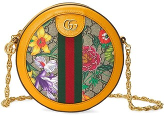 Gucci mini Ophidia Flora pattern shoulder bag