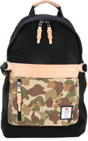 As2ov - front zip camouflage backpack - men - Nylon - One Size