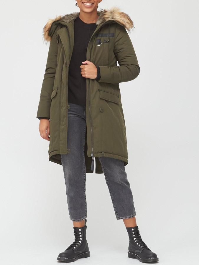 Very Longline Parka Coat