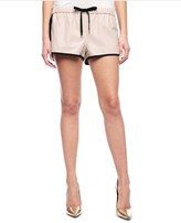 Juicy Couture Perforated Faux Leather Short