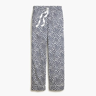 J.Crew Printed sleep pants