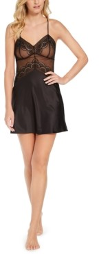 INC International Concepts Inc Lace Cup Chemise Nightgown, Created for Macy's