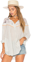 Free People Hearts and Colors Top in White