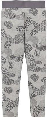 adidas Junior Girls Tights - Khaki