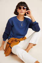 White + Warren Colorblocked Sweatshirt
