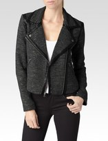 Paige Telma Jacket - Black/Ivory/Gold