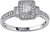 JCPenney MODERN BRIDE 1/3 CT. T.W. Diamond 10K White Gold Ring