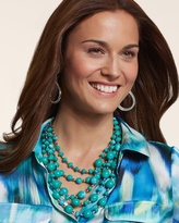 Chico's Dream Multi-Strand Necklace