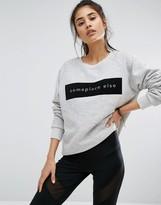 MinkPink Move Some Place Else Sweatshirt