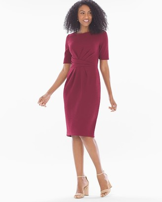 Soma Intimates Twist Front Short Dress Red