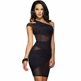 Dreamgirl Womens Crush One Shoulder Dress