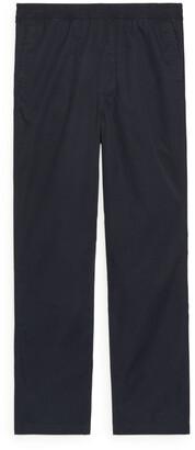 Arket Drawstring Organic Cotton Trousers
