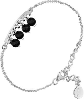 Canyon Women 925 Sterling Silver silver Onyx FINENECKLACEBRACELETANKLET