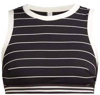 Solid & Striped The Stacey Striped Bikini Top - Womens - Black Stripe