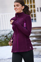 Classic Women's Active Knit Jacket-Black