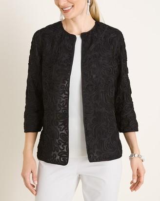 Travelers Collection Soutache Swirl Jacket