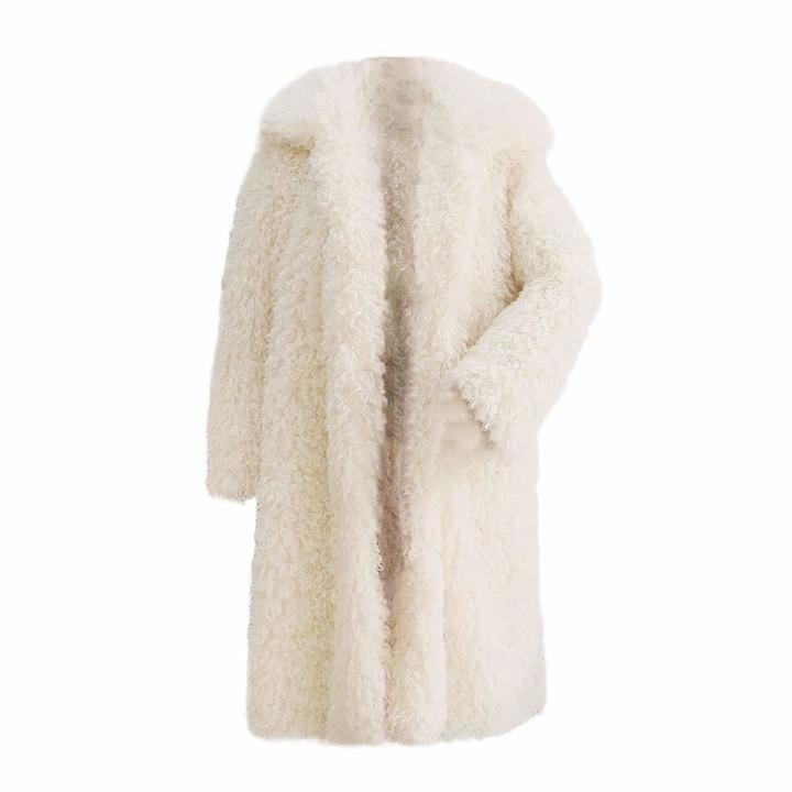 Thumbnail for your product : Jerfer Women Ski Winter Warm Thick Coat Solid Overcoat Outercoat Jacket Coat S-3XL Outercoat Wine