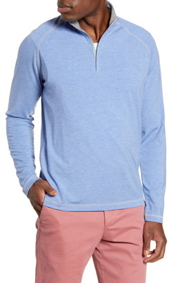 johnnie-O Collier Classic Fit Half-Zip Pullover