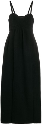 Jil Sander Bustier-Style Long Dress
