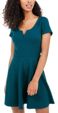 Trixxi Juniors' V-Wire Skater Dress