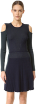Versace Long Sleeve Knit Dress