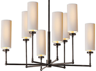 Thomas O'Brien For Visual Comfort Ziyi 8-Light Chandelier - Bronze